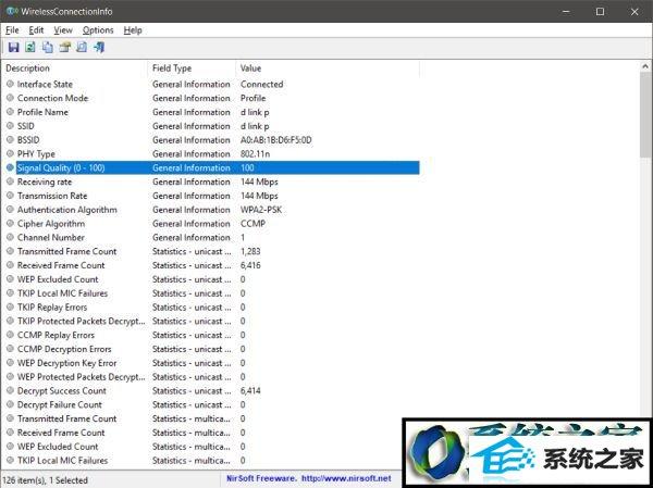 win8系统专业版系统检查wi-Fi信号强度的操作方法